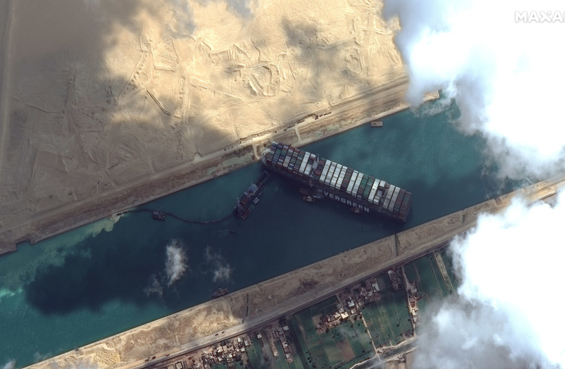 Suez Canal Crisis: Ship blocking canal may be due to human error