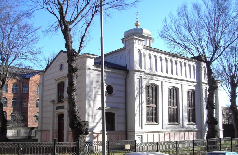 Norrkoping synagogue (photo credit: Wikimedia Commons)