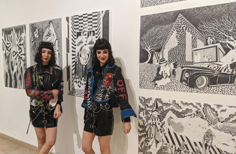 THE ROMANO SISTERS: 'We paint from our heart. Our art comes from our inner truths and dreams.' (photo credit: Courtesy)