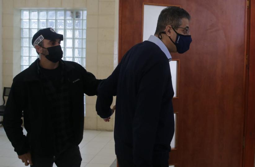 Former CEO of Walla Ilan Yeshua at trial of Prime Minister Benjamin Netanyahu, April 5, 2021 (photo credit: OREN BEN HAKOON/POOL)