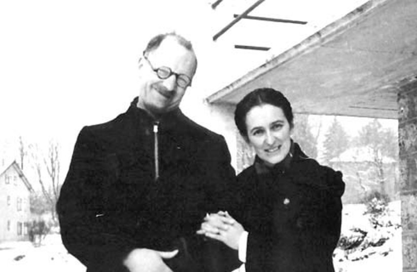 PASTOR ANDRE TROCME and wife, Magda. (photo credit: Wikimedia Commons)