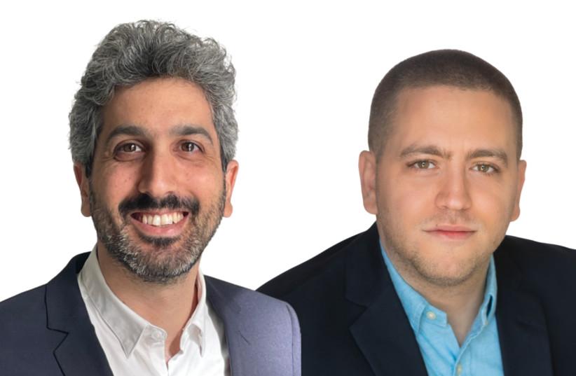 (R-L) Upsolver co-founders Ori Rafael and Yoni Eini (photo credit: Courtesy)