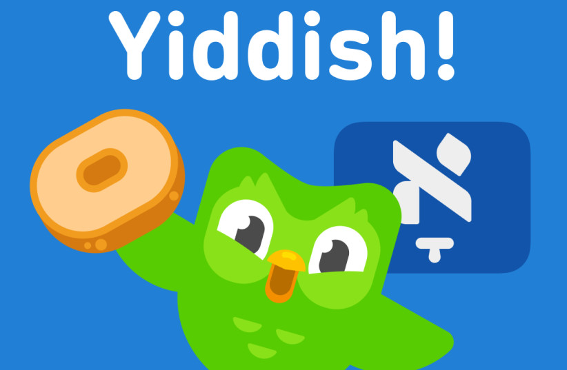 Language app DuoLingo launches Yiddish program (photo credit: Courtesy)