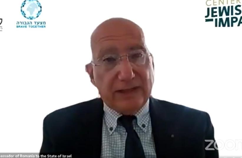 Romanian Ambassador to Israel, Mr. Radu Ioanid (photo credit: CENTER FOR JEWISH IMPACT)