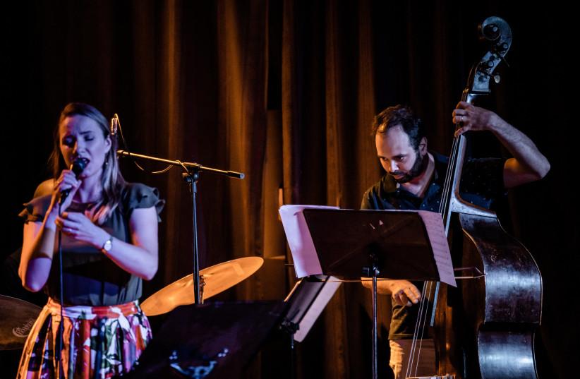 ICI FOUNDER and bassist Ehud Ettun joins forces with Polish vocalist Bogna Kacinska at the jazz club. (photo credit: COURTESY ICI)