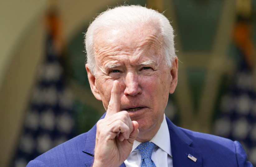 Biden: No peace until region recognizes Israel's right to exist