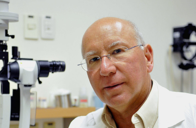 Prof. Jacob Peer, head of the Onco-Ophthalmology department at Hadassah. (photo credit: Courtesy)
