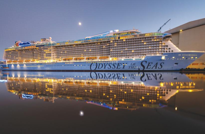 ROYAL CARIBBEAN International's 'Odyssey of the Seas' will start sailing from Haifa Port in May.  (photo credit: ROYAL CARIBBEAN INTERNATIONAL)