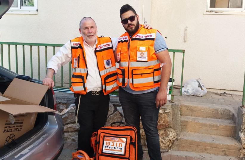 EMTs Save Life of Arab Boy With Chronic Heart Condition (photo credit: UNITED HATZALAH)