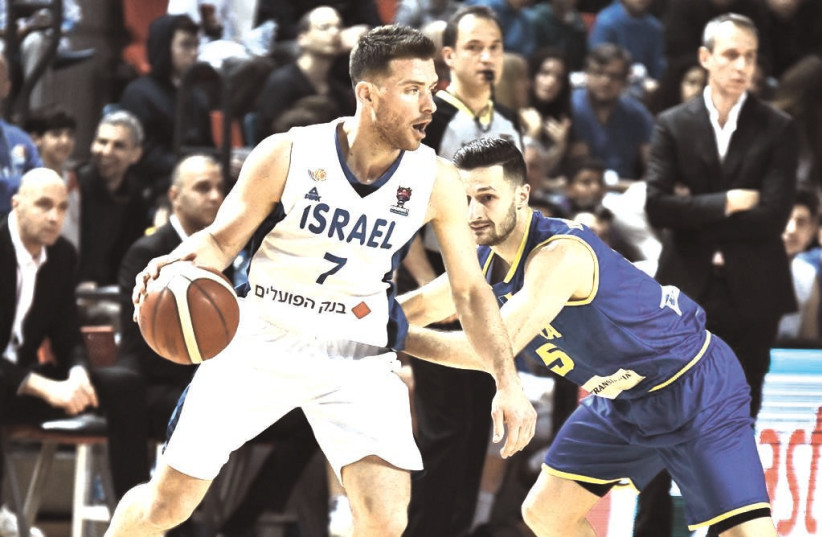 GAL MEKEL is only 33 years old and while he has already had a full and memorable basketball career, the Israeli guard still has plenty to give on the court at both the national and club levels. (photo credit: JOSHUA HALICKMAN/COURTESY)