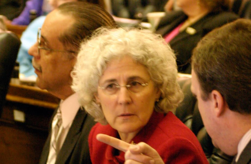 Del. Shane E. Pendergrass in the Maryland General Assembly in Annapolis, Md., April 10, 2006.  (photo credit: JAMES M. THRESHER/THE THE WASHINGTON POST VIA GETTY IMAGES)
