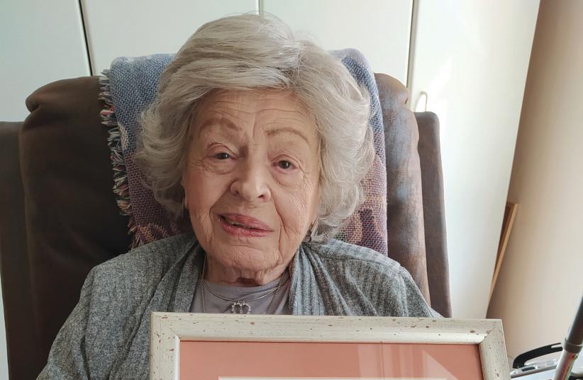 Chaya Sarah (Seltzer) Zivitz, 96 (photo credit: SARAH MANNING)