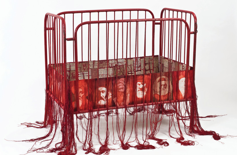 ANDI ARNOVITZ'S Lilith's Nightmare installation draws chilling attention to reports of rabbis sexually abusing children (photo credit: ANDI ARNOVITZ)