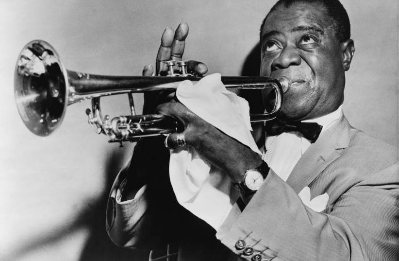Louis Armstrong  (photo credit: Wikimedia Commons)