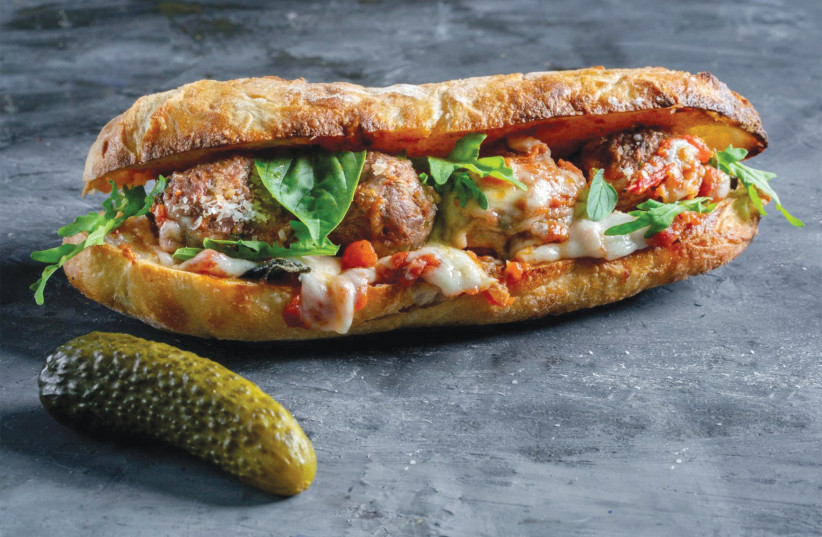 Rocco's Italian-American Sandwich Shop (photo credit: ASSAF KERALA)