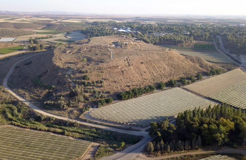 Lachish archaeological site. (photo credit: AUSTRIAN ARCHAEOLOGICAL INSTITUTE/AUSTRIAN ACADEMY OF SCIENCES)