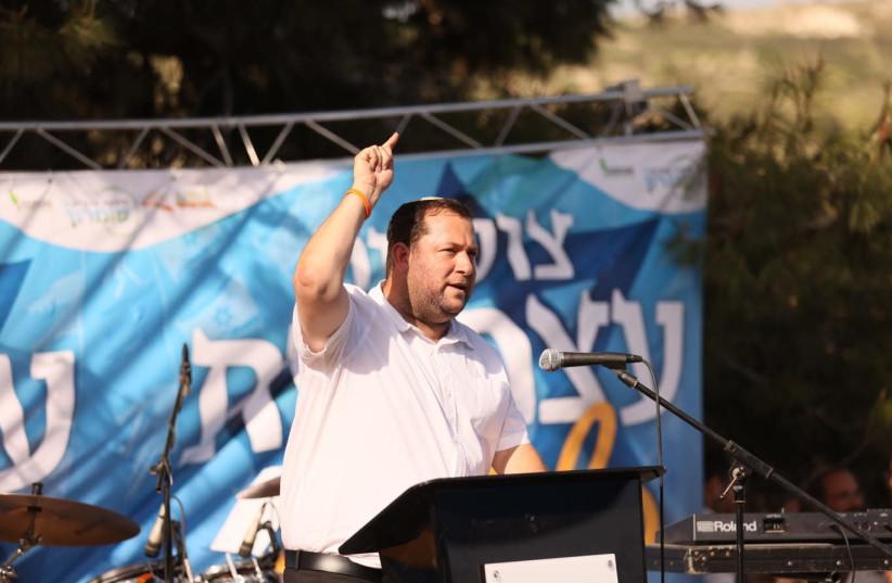 Samaria Regional Council head Yossi Dagan at Sa-Nur, April 15, 2021. (photo credit: ELICHAI MENACHEM)