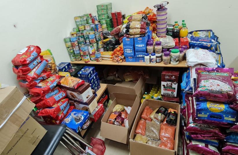 MDA delivers food baskets to Israeli-Arab city of Sakhnin during Ramadan (photo credit: MDA)