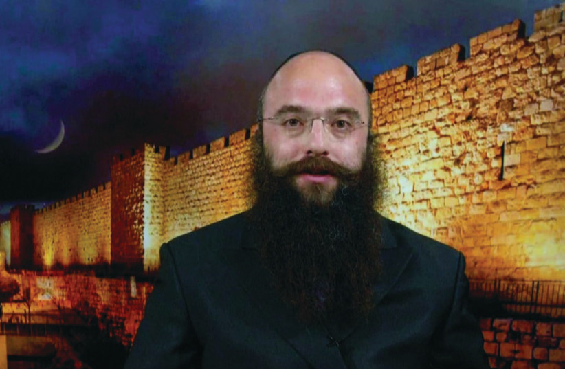 RABBI YISROEL GOLDBERG, director of Chabad of Rehavia (photo credit: Courtesy)
