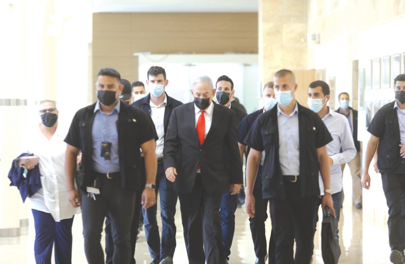 IS PRIME MINISTER Benjamin Netanyahu's era nearing its end? (photo credit: MARC ISRAEL SELLEM/THE JERUSALEM POST)