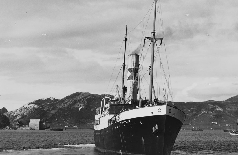 The 'Nordborge' is seen in 1928. (photo credit: Wikimedia Commons)