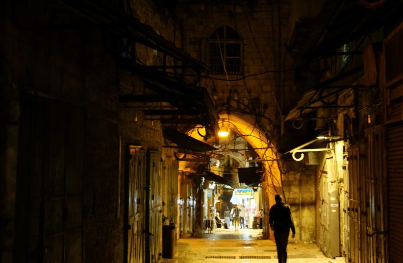 'I DELIGHT in finding a new alleyway.'  (photo credit: SARA KLATT/FLASH90)