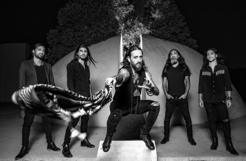Israeli metal band Orphaned Land.   (photo credit: ZOHAR RON)