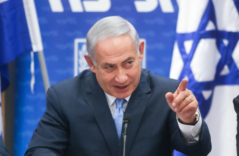 DID BENJAMIN NETANYAHU lose his cool this week during the fight over the appointment of a justice minister, or was it all part of a larger strategy? (photo credit: MARC ISRAEL SELLEM/THE JERUSALEM POST)