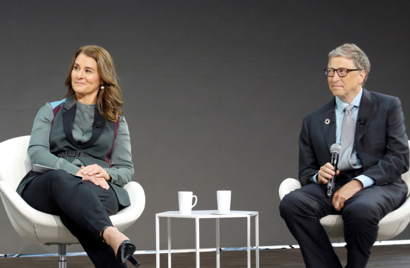 Gates Foundation Goalkeepers event in New York (photo credit: REUTERS)