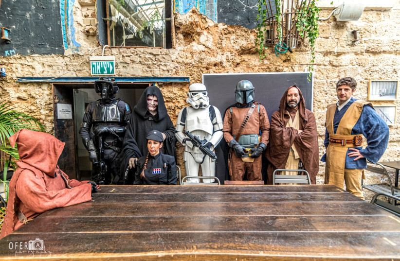 May the 4th be with you: Israel's Star Wars fans return after COVID-19 hiatus (photo credit: OFER MOLDOVAN)
