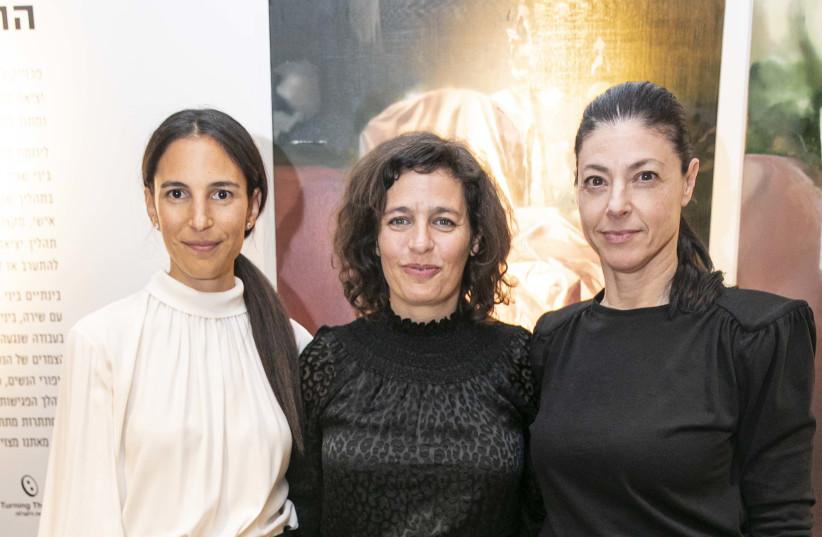 Ifat Irani, Shira Geffen and Merav Michaeli (photo credit: ELIRAN AVITAL)