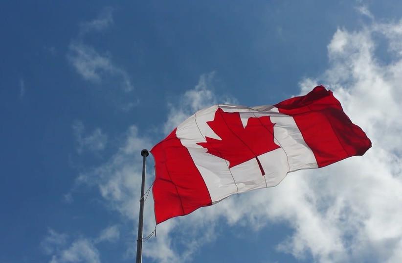 Canadian flag (photo credit: PIXABAY)