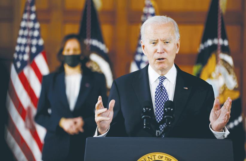 Biden urges Gaza-Israel calm in first call with Abbas