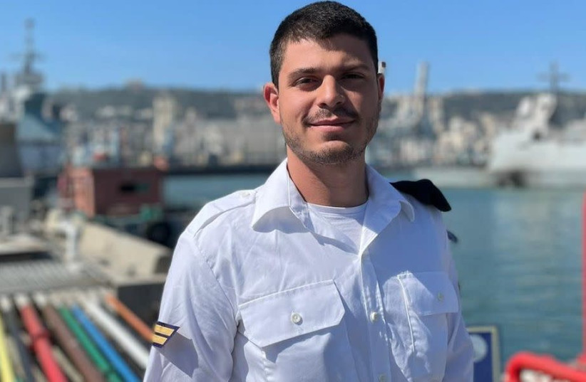 Thiago Benzecry is now a lone soldier in the Israeli Navy. (photo credit: COURTESY OF BENZECRY/JTA)