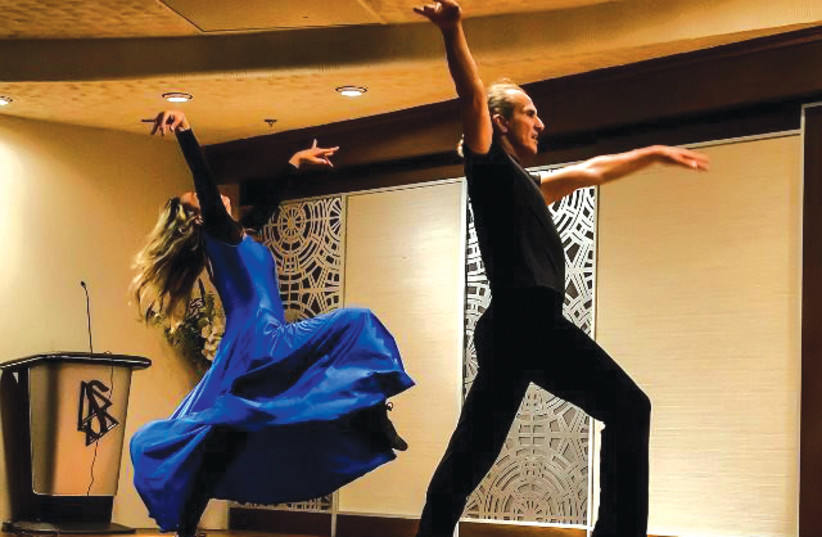 The dancing duo of Amnon and Jill Damti have performed around the world. (photo credit: Courtesy)