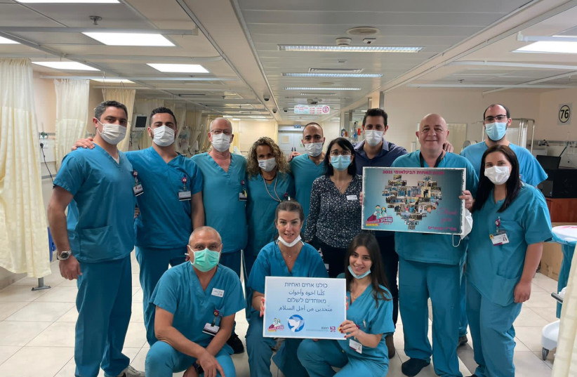 'We are family': Jewish and Arab medical staff respond to ethnic tensions