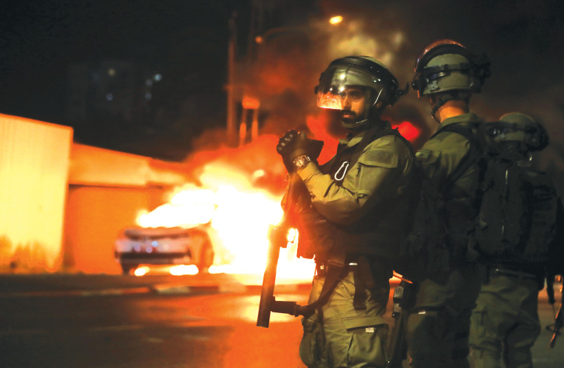 Are the Jews being attacked in Israel's mixed cities victims of 'pogroms'
