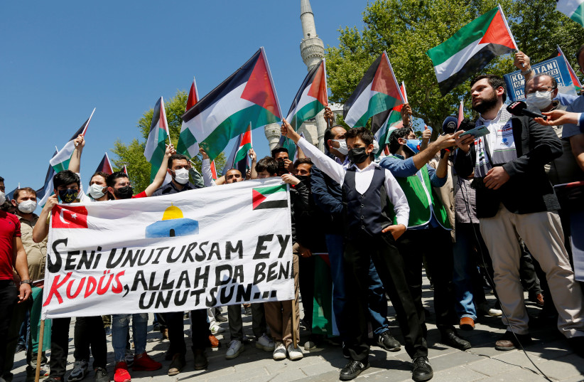 Thousands gather in northern Israel for Nakba Day protests