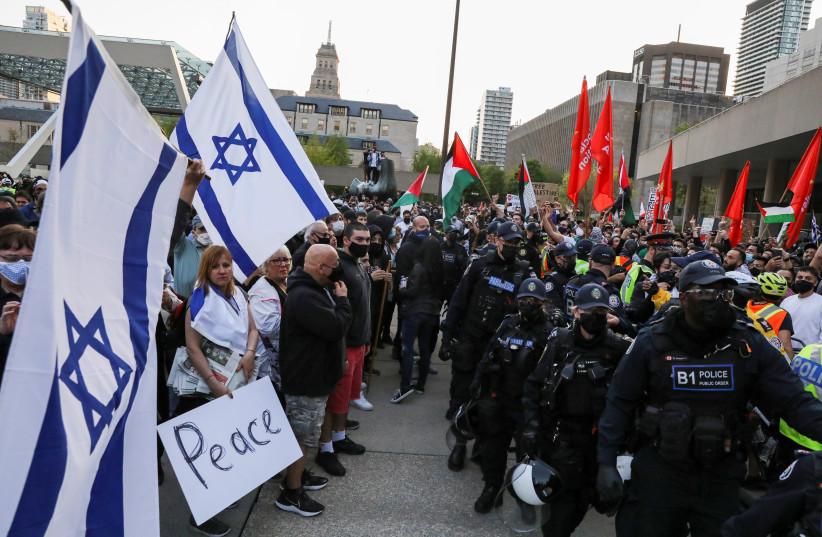 Social media fuels polarization in Israeli-Palestinian conflict