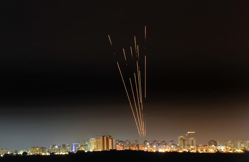 Rocket barrage renews after night of quiet; IDF continues striking Hamas