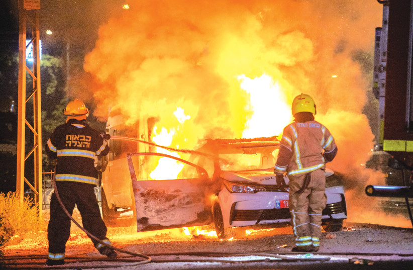 '400 families left Lod because of riots,' says mayor