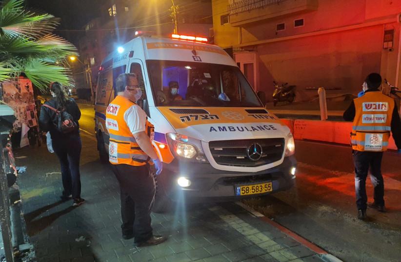 United Hatzalah volunteers on an ambulance shift (illustration) (photo credit: UNITED HATZALAH)