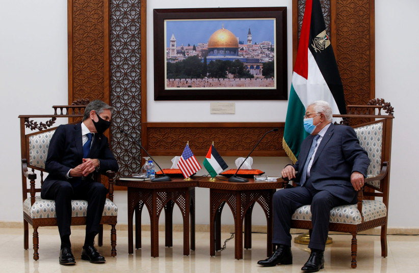 Blinken to ask Congress for m. in Palestinian aid