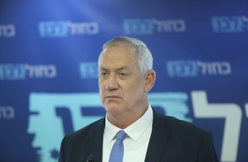 Gantz conditions Gaza development on prisoner exchange deal