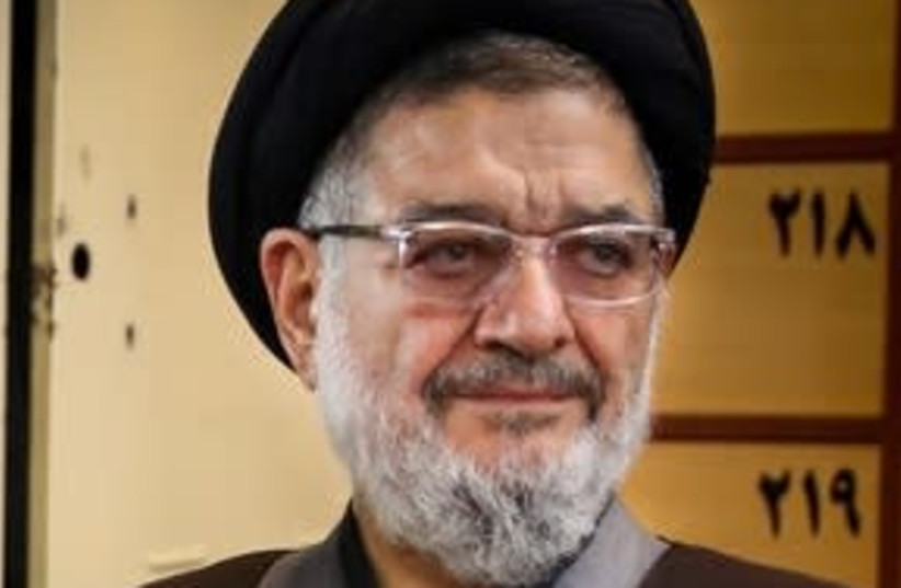 Ali Akbar Mohtashamipur, co-founder of Hezbollah and IRGC. (photo credit: Wikimedia Commons)