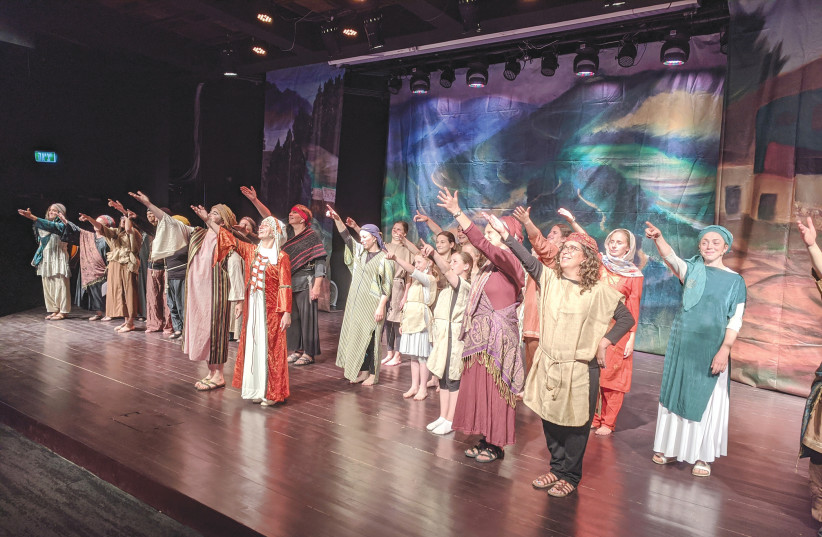 THE RAISE Your Spirits theater group has been feeding off biblical storylines for two decades.  (photo credit: ASHIRA ALLON)