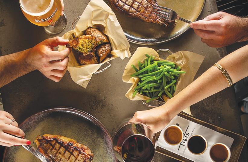 Tibi's Steakhouse (photo credit: ASSAF KERALA)