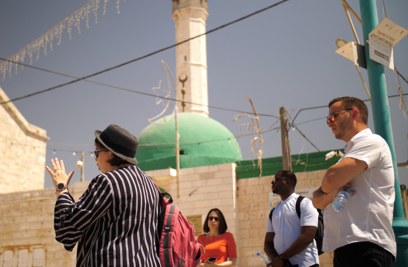 Evangelical Christians visit Israel on Passages - June 2021 (photo credit: CADE CHUDY)