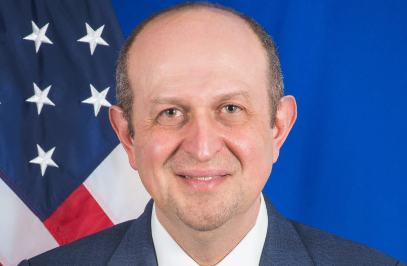 US Deputy Assistant Secretary for Israeli and Palestinian Affairs Hady Amr. (credit: Wikimedia Commons)