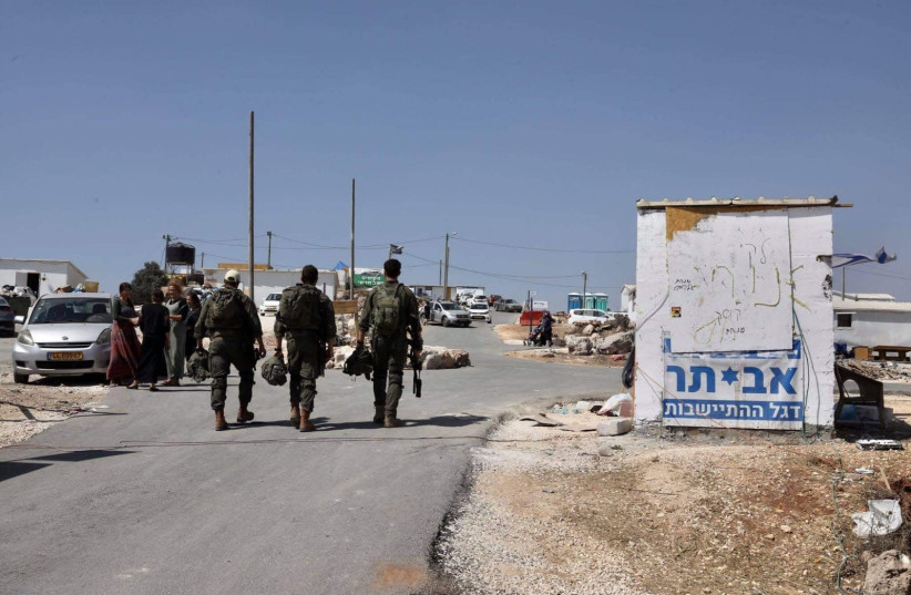 Palestinian killed in clashes with IDF outside Evyatar